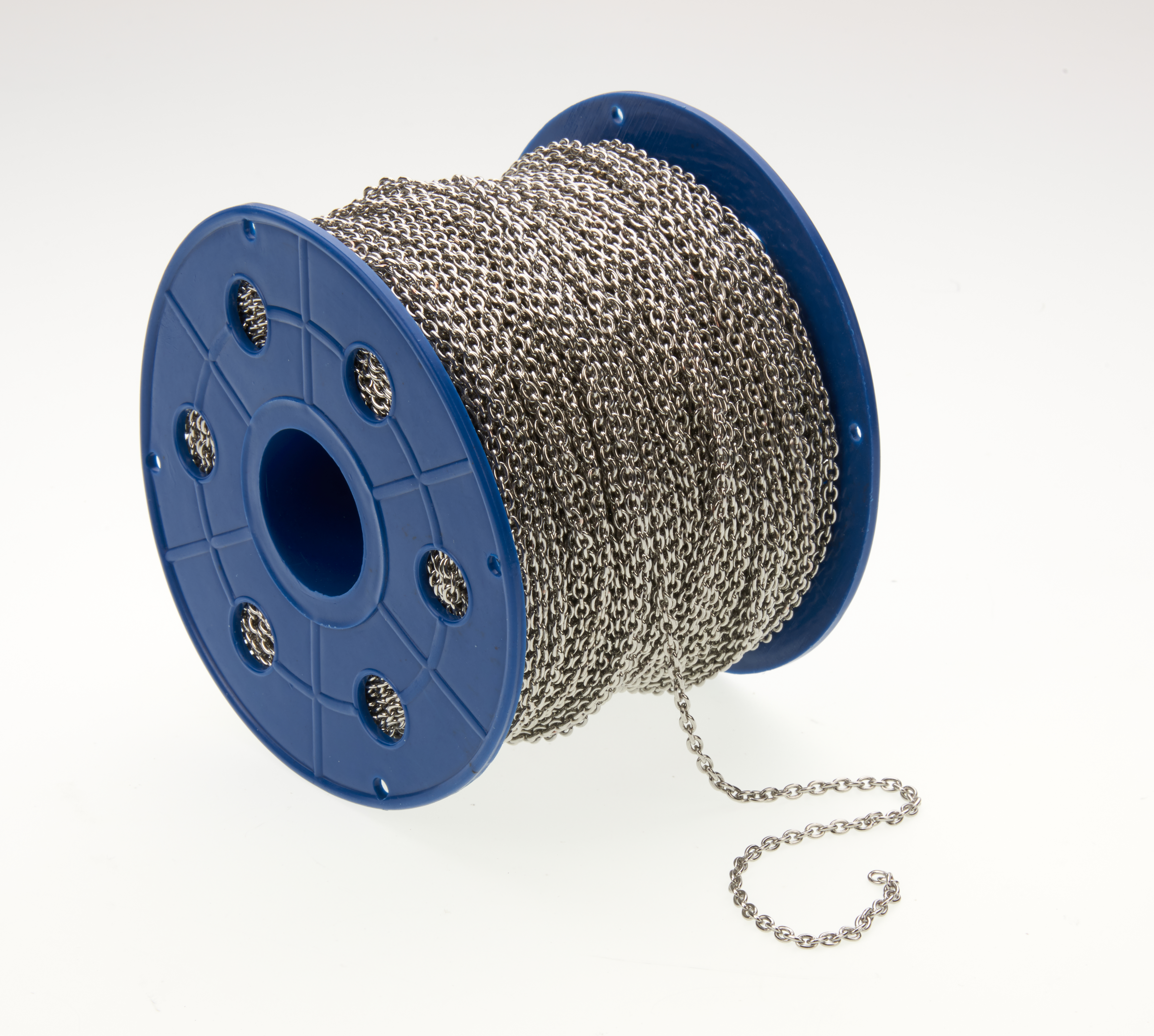 Tin Plated Chain On 100m Spool