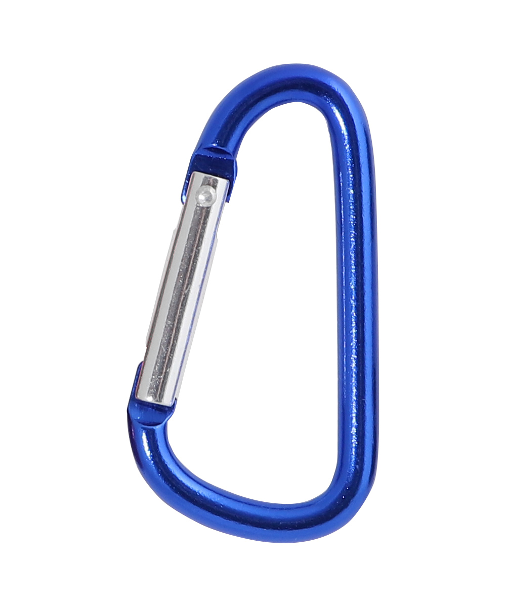 57mm Aluminium carabiner, Blue