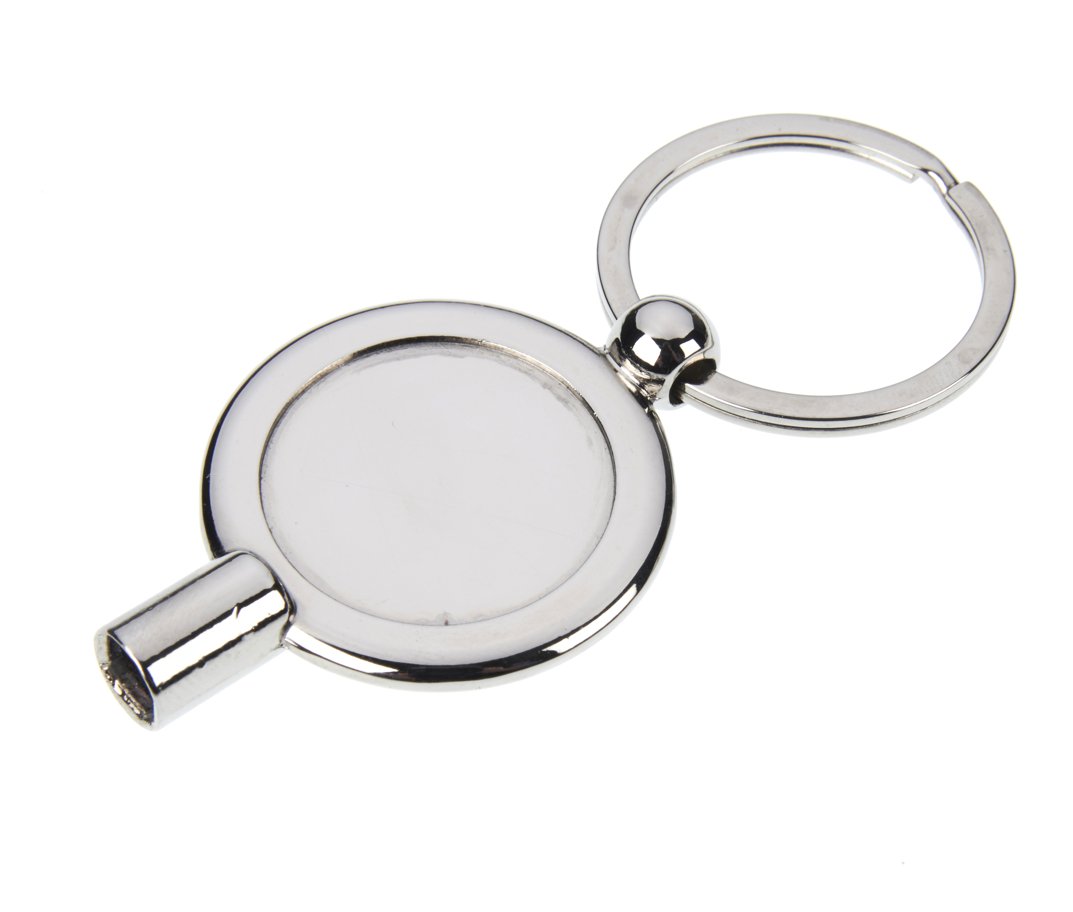 Radiator Valve Key Keyring with 25mm Insert