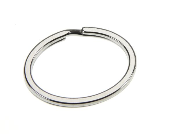 10mm Heavy weight Split Ring  Nickel Plated