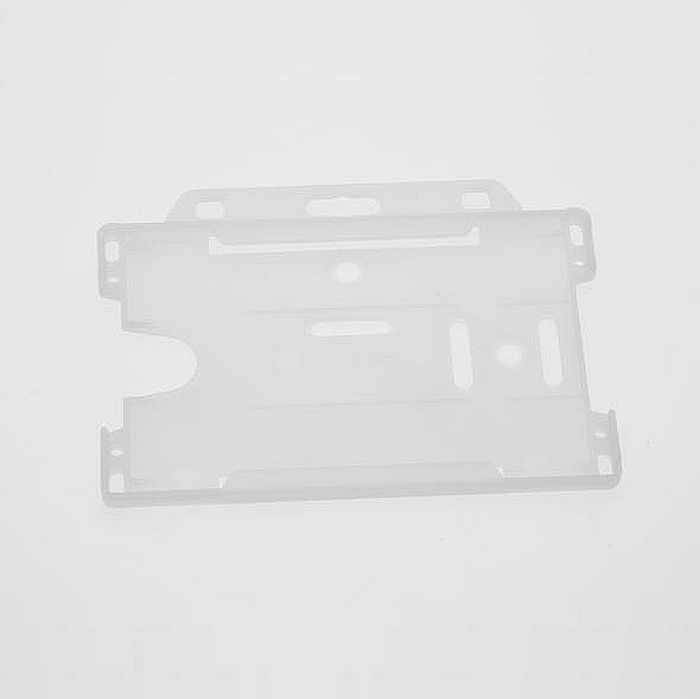 54mm X 86mm (Credit Card Size) Card Holder Frost/Clear