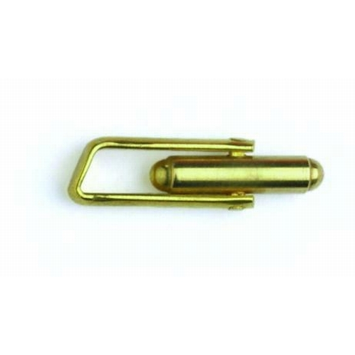 Brass Cufflink With Angle Frame