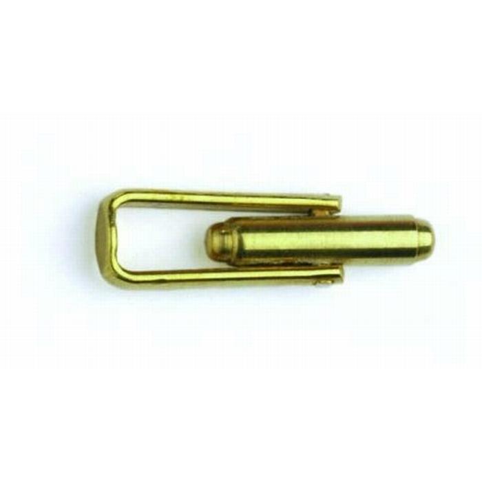 Brass Cufflink Straight Frame