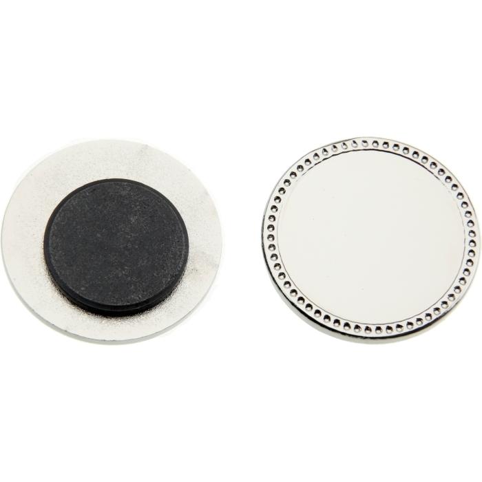 Magnetic badge / fridge magnet to take 25mm insert
