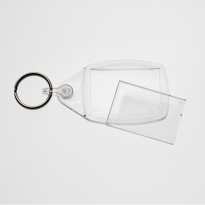 Clear Key Fob With 35 X 24 mm Insert