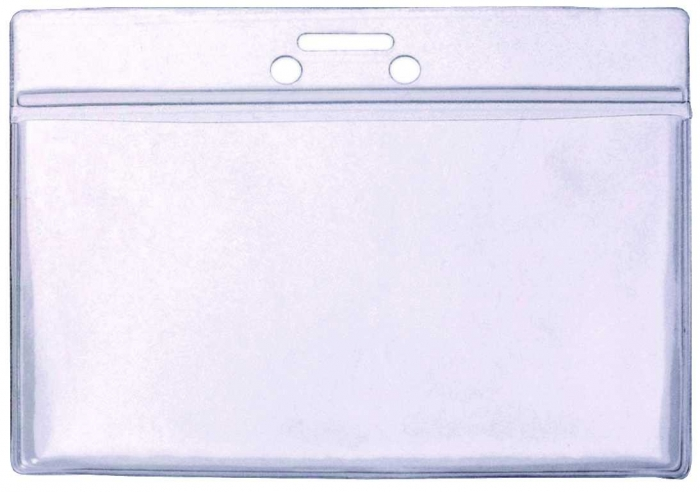 95 x 70mm ( Approx Insert Size) Clear PVC Wallet
