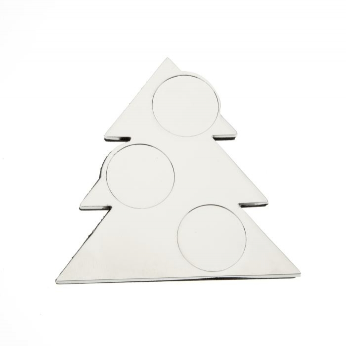 Christmas Tree Fridge Magnet 66 x 66mm to take 18mm Insert