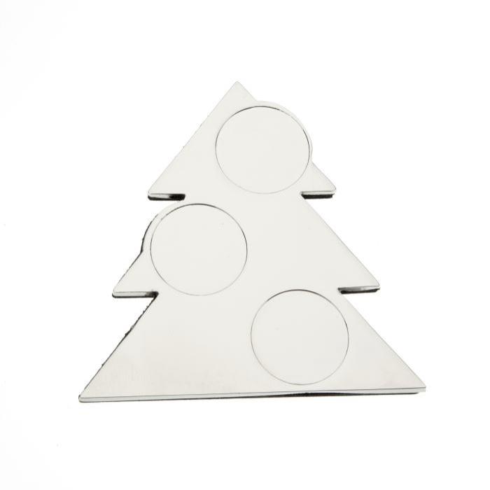 Christmas Tree Fridge Magnet 66 x 66mm to take 18mm Insert