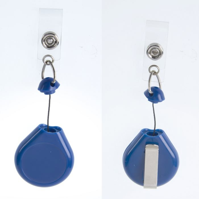 Blue Badge Reel 25mm Centre 870mm Retractable Cord