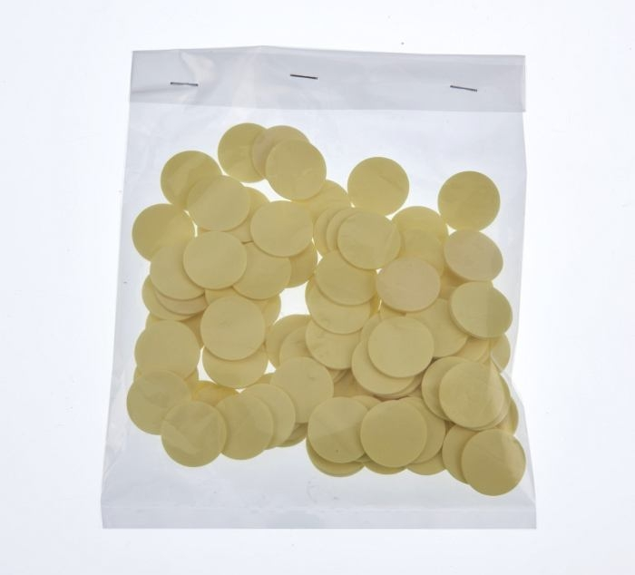 20mm x 1mm Self adhesive pad 100 Pieces Per Bag
