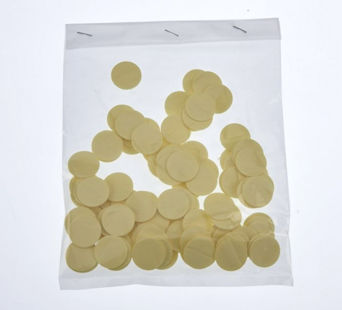 18mm x 1mm Self adhesive pad 100 Pieces Per Bag.