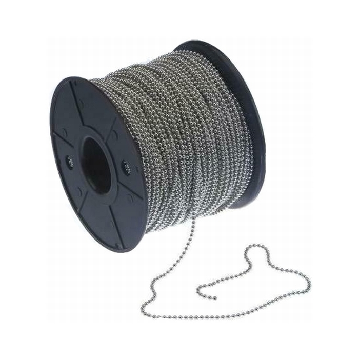 2.4mm Ball Chain Tin Plated Priced per meter min 100m
