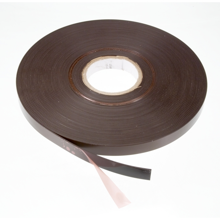 20mm X 33 Meter Roll Self Adhesive Magnetic Strip